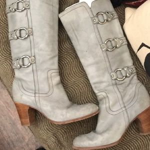 Frye Fiona 3 strap boots
